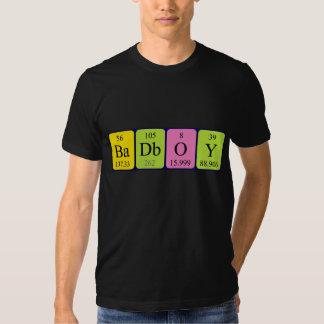 BadBoy periodic table phrase shirt
