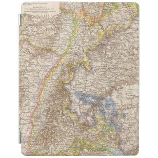Baden Germany Atlas Map iPad Cover