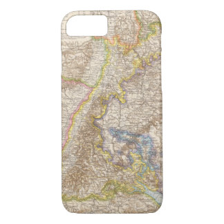 Baden Germany Atlas Map iPhone 8/7 Case