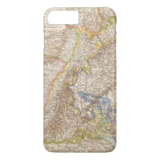 Baden Germany Atlas Map iPhone 8 Plus/7 Plus Case
