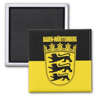 Baden-Wurtemburg Lesser Arms Square Magnet