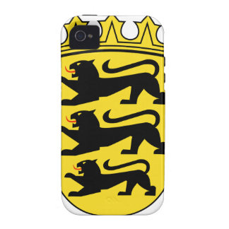Baden-Württemberg (Germany) Coat of Arms Case-Mate iPhone 4 Covers