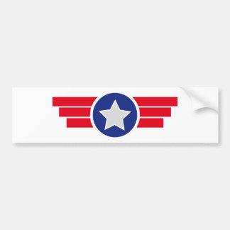 Badge airborne aviation Military Bumper Sticker