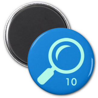 Badge Magnet - Search 10