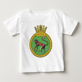 Badge of HMS Artful Baby T-Shirt
