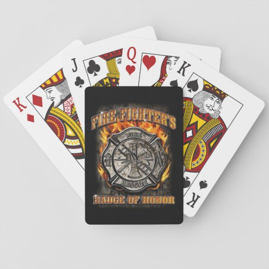 Badge Of Honour Playing Cards