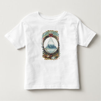 Badge of the Federation of Guatemala Toddler T-Shirt
