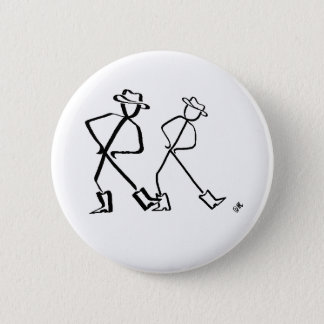 Badge with Line dancers