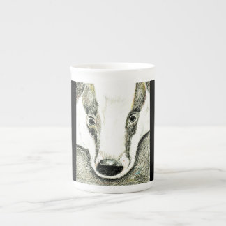 Badger bone china mug