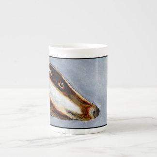 Badger bone china mug (a83)
