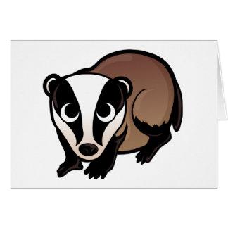 Badger Design Card