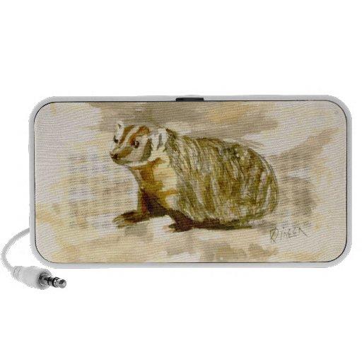Badger Doodle Speaker