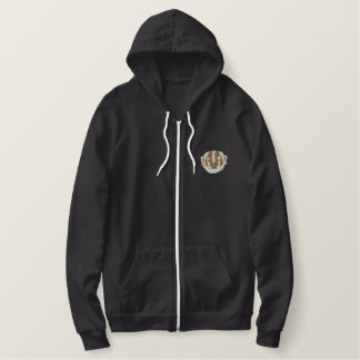 Badger Embroidered Hoodie