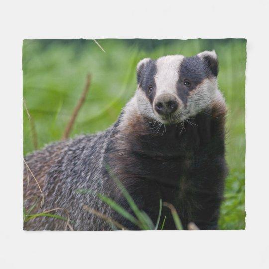 Badger Fleece Blanket
