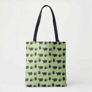 Badger Frenzy All Over Print Bag (Light Green)