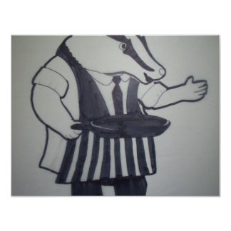 Badger from Wind in the Willows Card