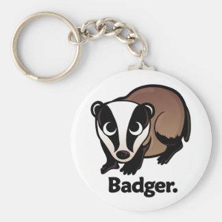 Badger. Key Ring