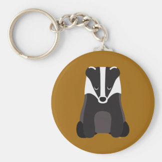 Badger Keychain