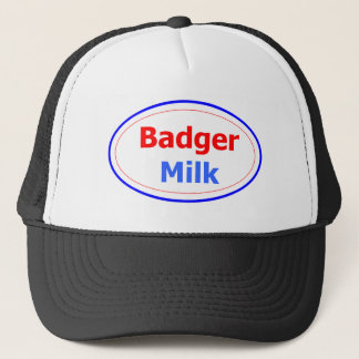 Badger Milk Trucker Hat