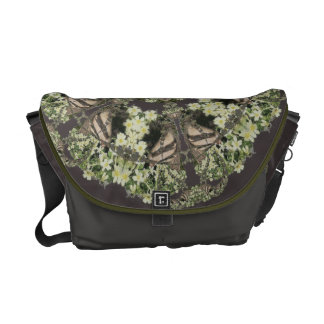 Badger on Primrose Bank Kaleidoscope Courier Bag