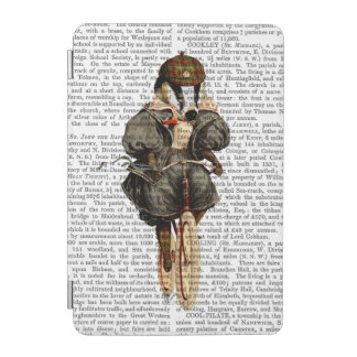 Badger on Vintage Bicycle iPad Mini Cover