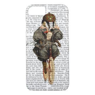 Badger on Vintage Bicycle iPhone 8/7 Case