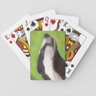 Badger playing cards (A332)