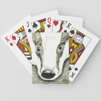 Badger playing cards (JZH1)