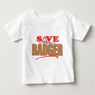 Badger Save Baby T-Shirt
