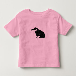 badger t-shirt, kids pink toddler T-Shirt