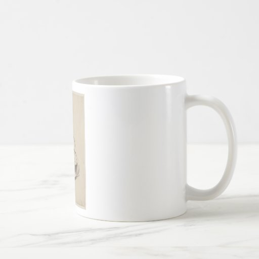 Badger Tea Kettle Basic White Mug