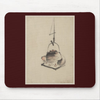 Badger Tea Kettle Mouse Pad