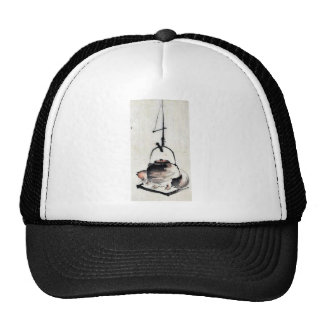 Badger tea kettle Ukiyoe Hat