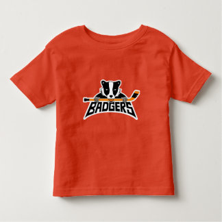 Badgers Hockey Logo Toddler T-Shirt