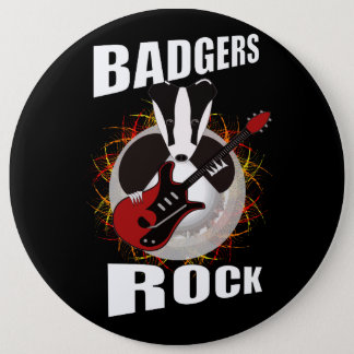 Badgers rock rocking badge