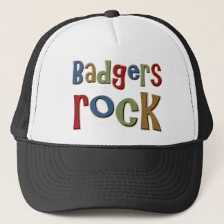 Badgers Rock Trucker Hat