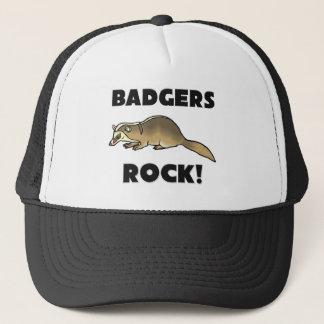 Badgers Rock Trucker Hat
