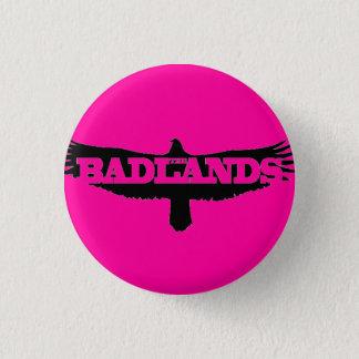 """Badlands 1"""" button"""