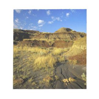 Badlands at Dinosaur Provincial Park in Alberta, Notepad