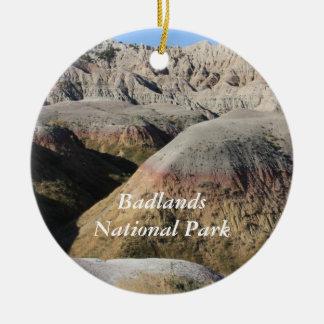Badlands Christmas Ornament