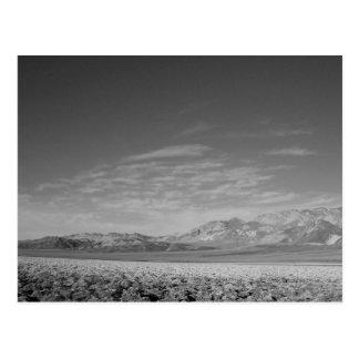 Badlands-Death Valley, CA Postcard