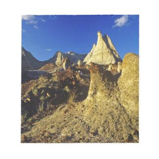 Badlands formations at Dinosaur Provincial Park 2 Notepads