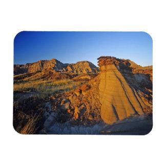 Badlands formations at Dinosaur Provincial Park 3 Magnet