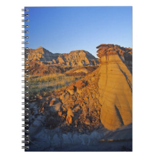 Badlands formations at Dinosaur Provincial Park 3 Notebooks
