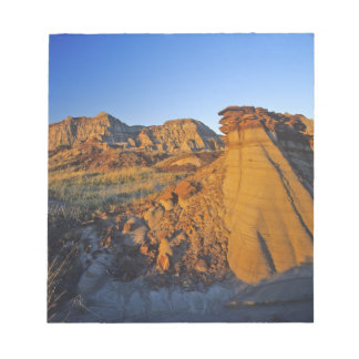Badlands formations at Dinosaur Provincial Park 3 Notepad