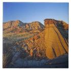 Badlands formations at Dinosaur Provincial Park 3 Tile