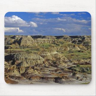 Badlands formations at Dinosaur Provincial Park 4 Mouse Mat