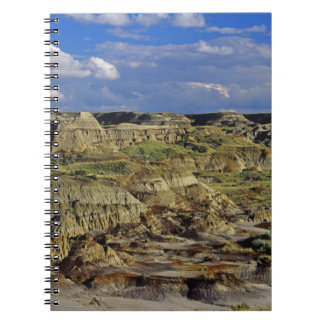 Badlands formations at Dinosaur Provincial Park 4 Notebook