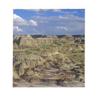 Badlands formations at Dinosaur Provincial Park 4 Notepad