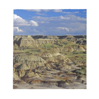 Badlands formations at Dinosaur Provincial Park 4 Notepads